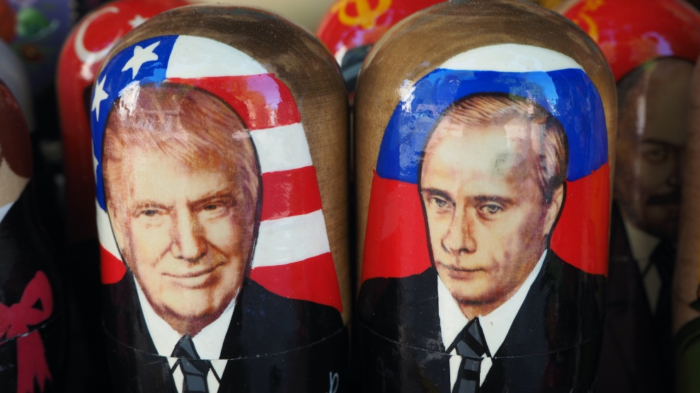 A Question That Won T Go Away Why Does Trump Love Putin So Much Mother Jones
