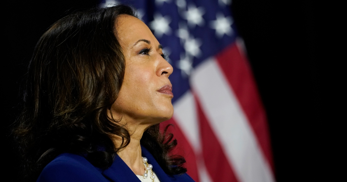 New Podcast Episode The Biggest Night Of Kamala Harris Life And How She Got There Mother Jones