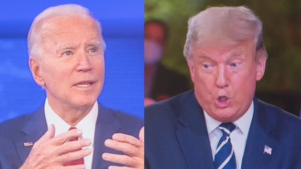 Early Results Are In: More People Watched Biden's Town Hall Than Trump's 1