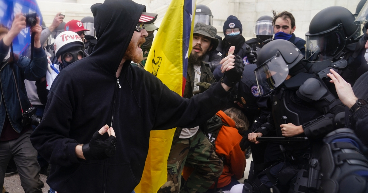 35 times Capitol Police arrested more demonstrators than the 14 insurgents arrested Wednesday