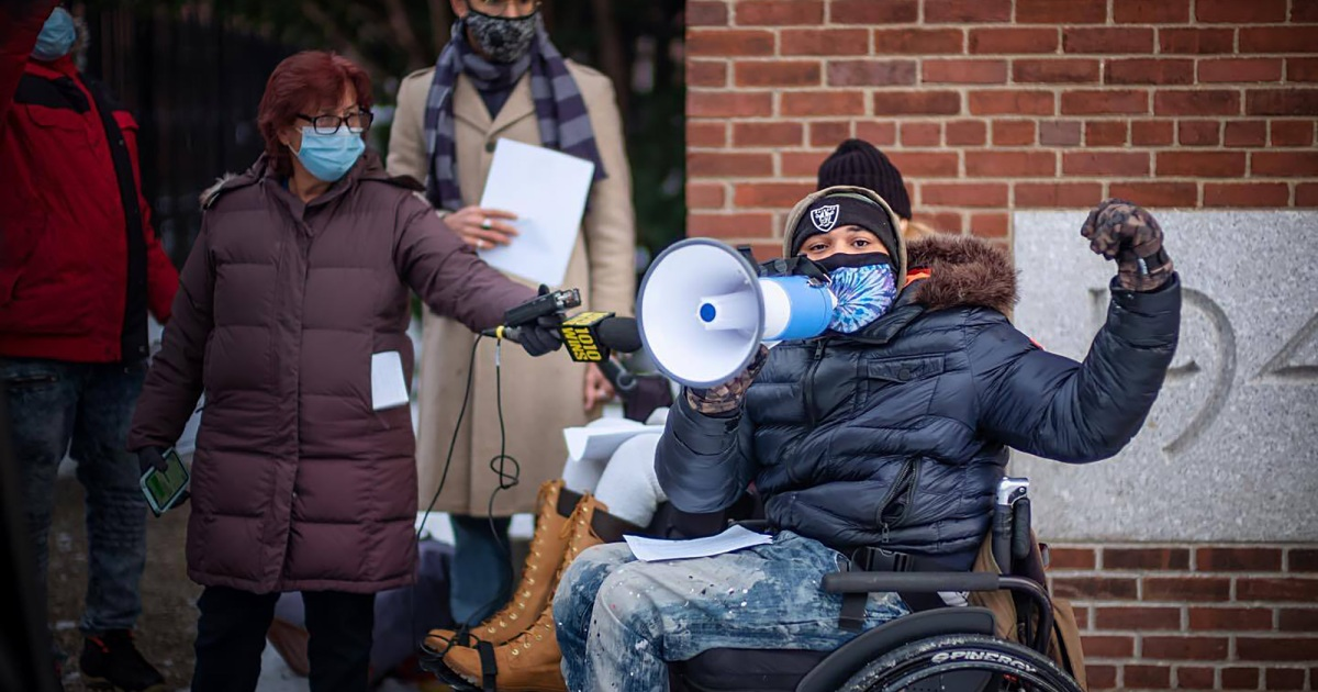 COVID has turned these nursing home residents into activists fighting to show their lives matter