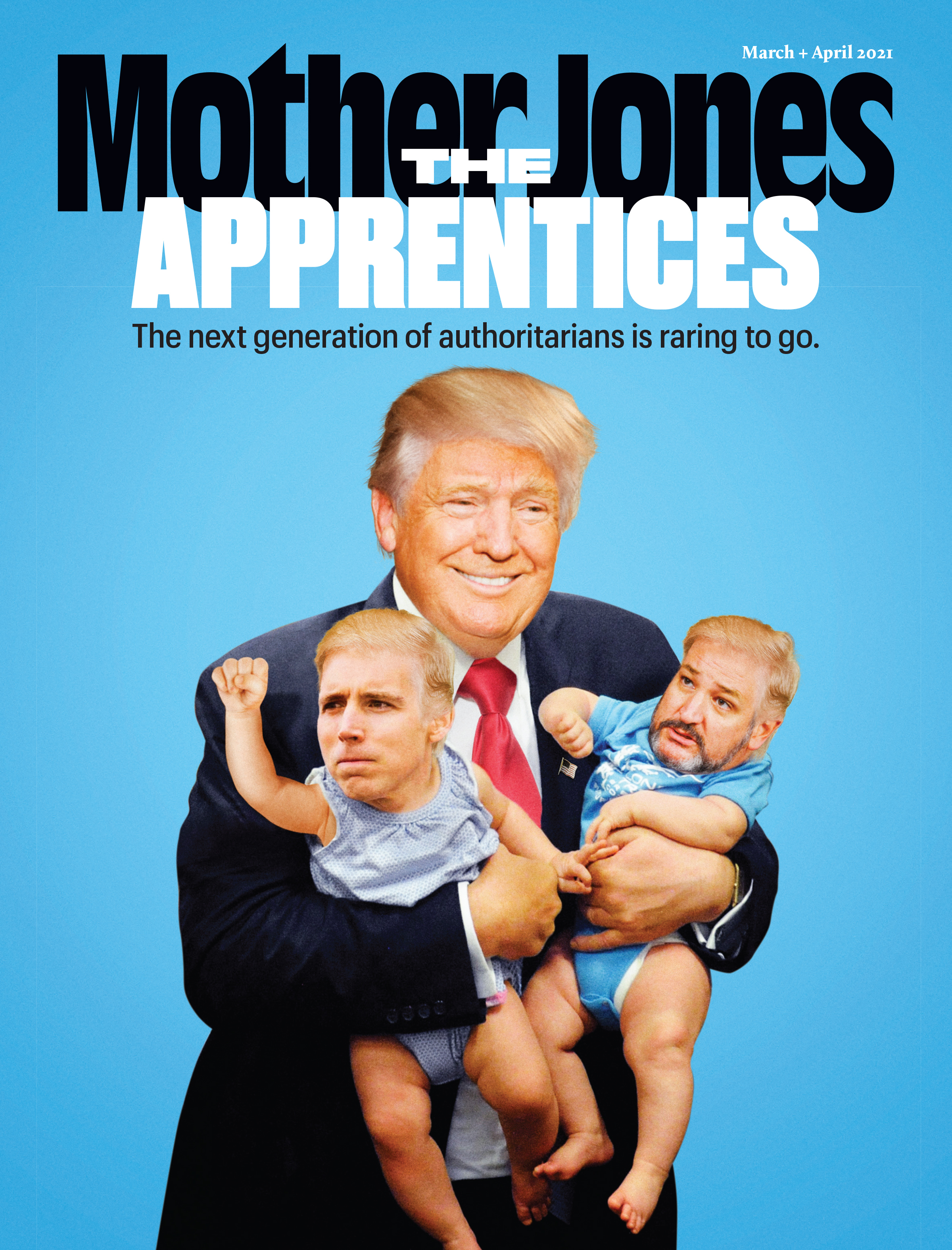Mother Jones Magazine Cover : September + October 2020