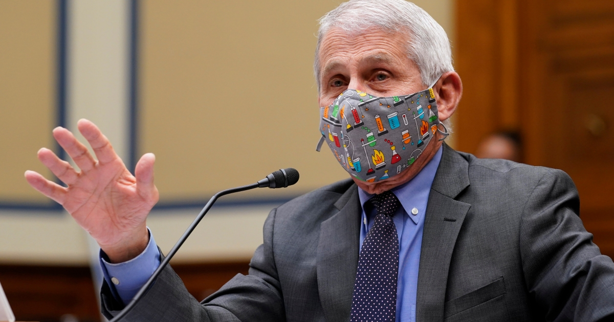 """Jim Jordan started ranting about """"lost liberty"""" in the pandemic. Dr. Fauci wasn't having it."""