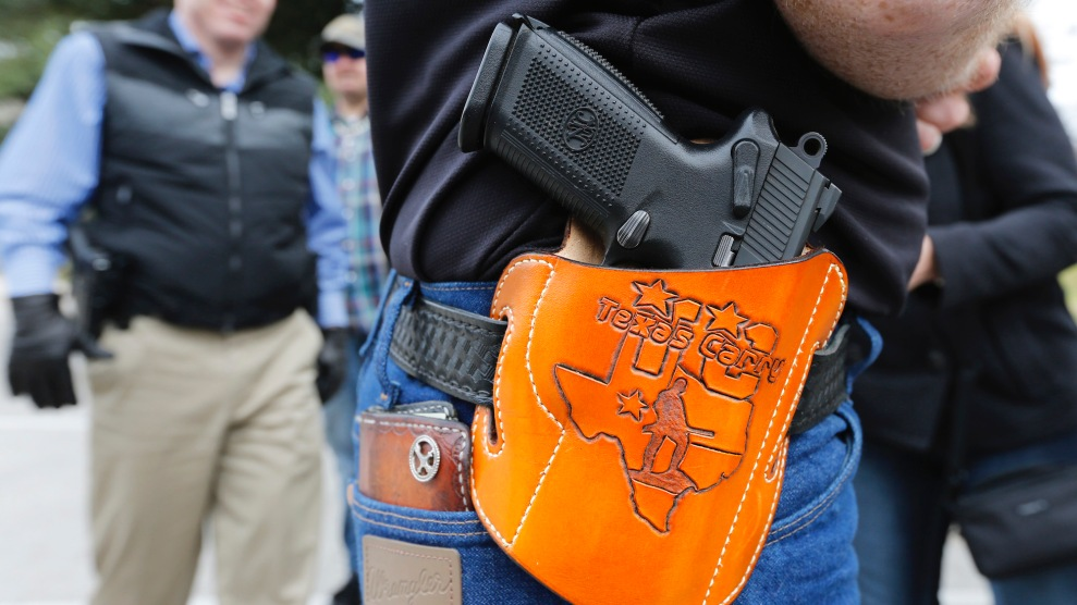 During Wave of Mass Shootings, Texas Moves to Eliminate Handgun Permits 1