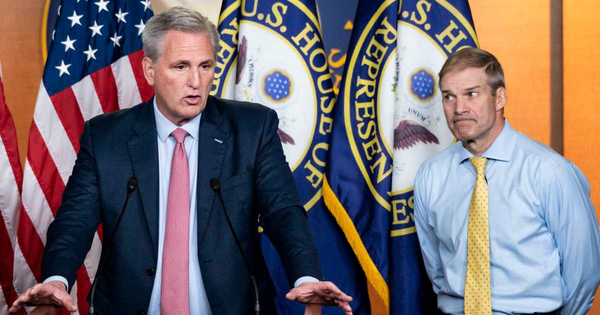Threat of subpoenas for Kevin McCarthy and Jim Jordan Mounts – Mother Jones