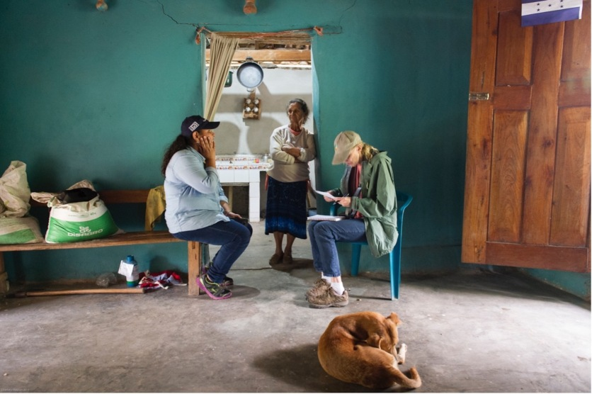 Cool Effect Co-Founder, Dee Lawrence (right), visits Honduras and interacts with families on the ground and speaks with community members whose lives have been impacted.