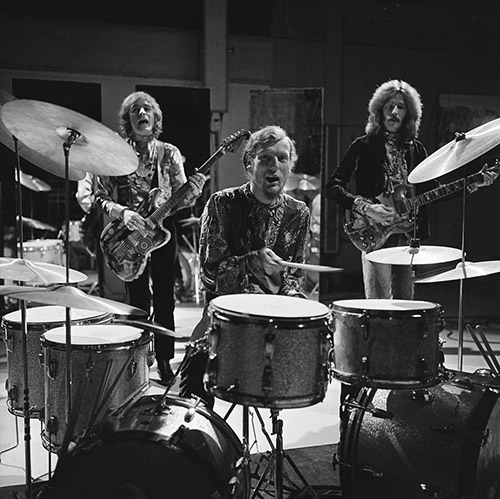 Happy 75th Ginger Baker British Drummer Carried Beat For