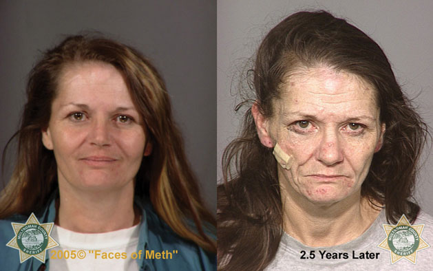 Two headshots of a woman side-by-side