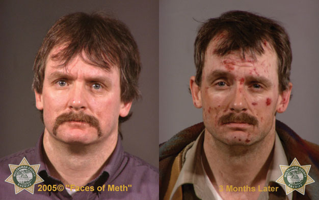 Two headshots of a man side-by-side