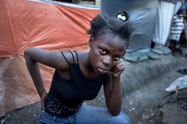 Inside Haitis Tent Cities - Mother Jones