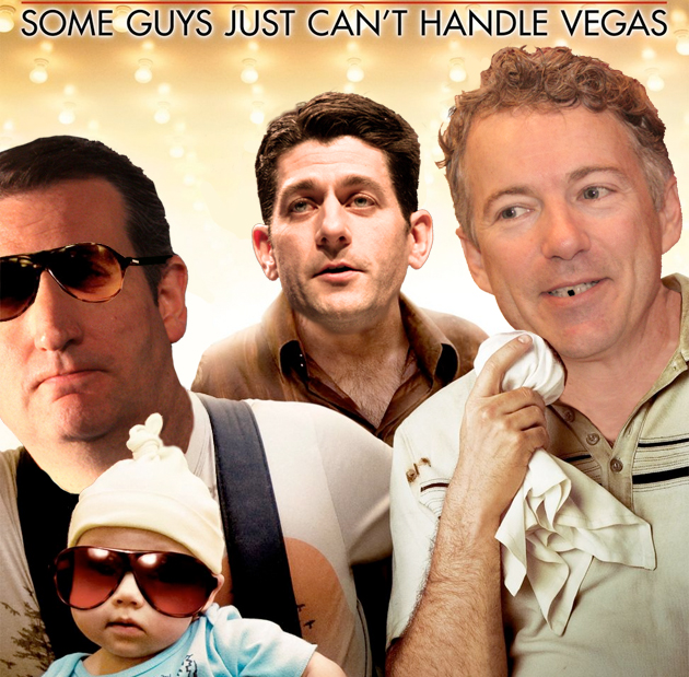 GOP Hangover poster