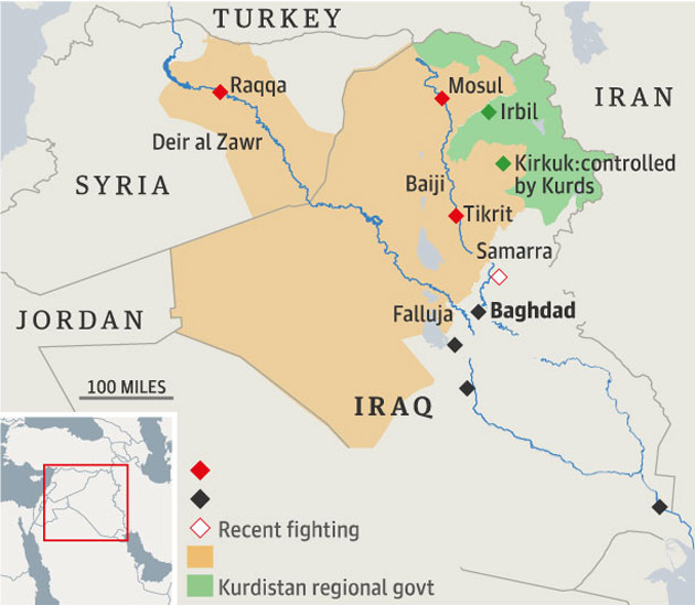 Water Supply Key to Outcome of Conflicts in Iraq and Syria Mother
