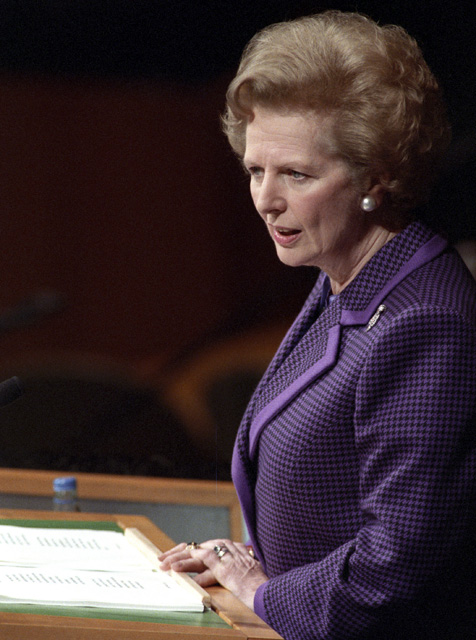 Margaret Thatcher at the UN