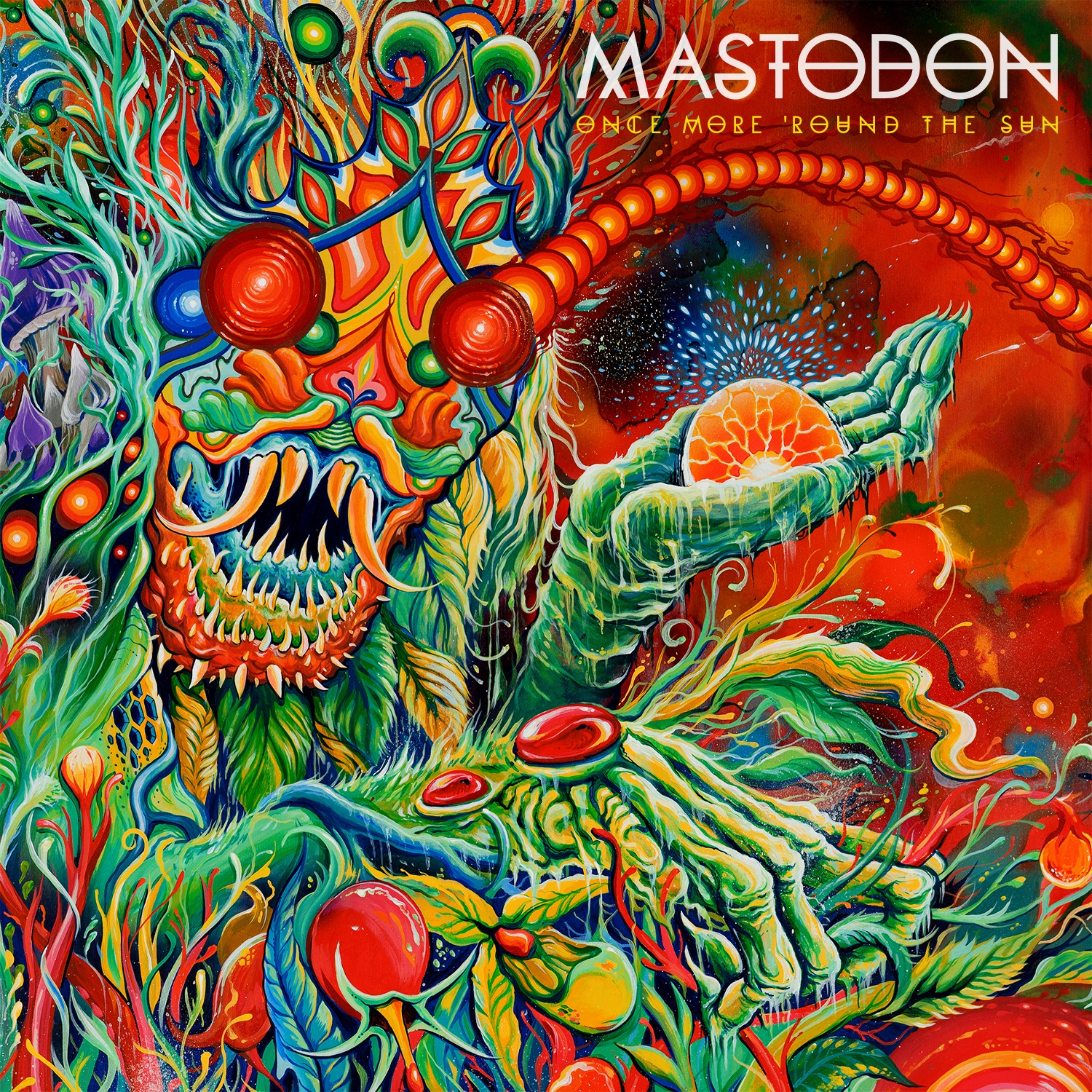 Mastodon Once More 'Rounds the Sun