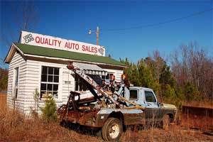 Image result for dubious used car lot