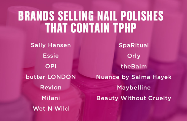 These Nail Polish Brands Contain A Chemical That Could Mess With