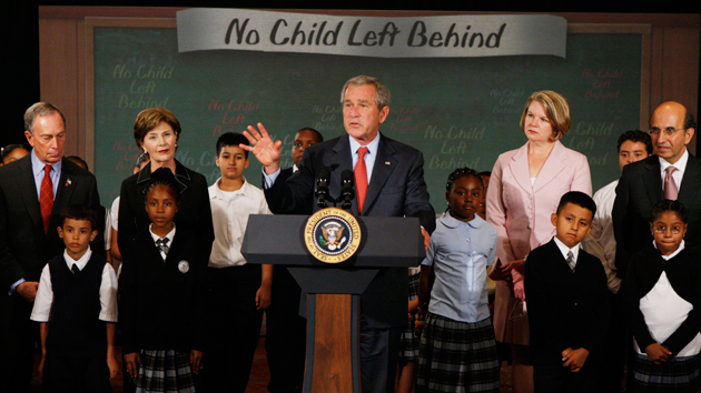 What No Child Left Behind Did For >> Everyone Wants To Leave No Child Left Behind Behind Mother Jones