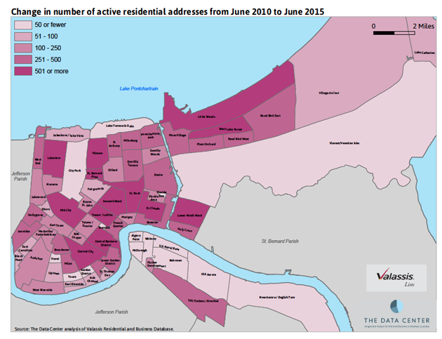 Maps 10 Years After Katrina NOLAs Poor Neighborhoods