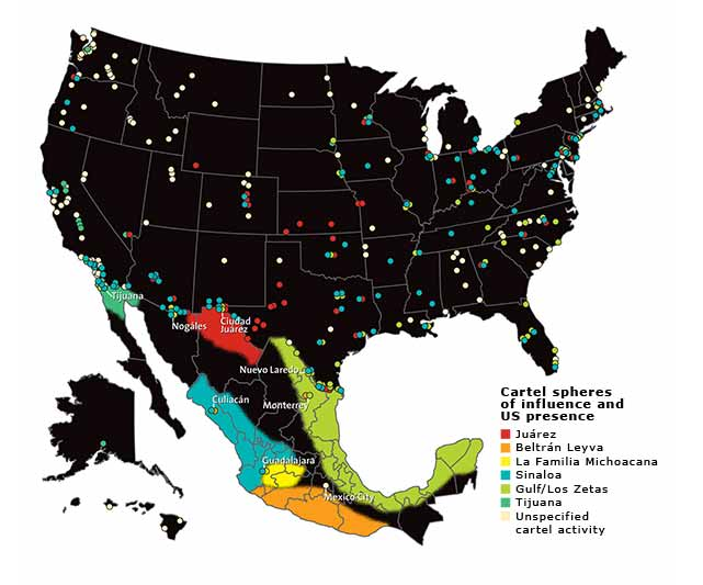 Mexico S New Super Cartel Ups Violence In Power Play Mother Jones