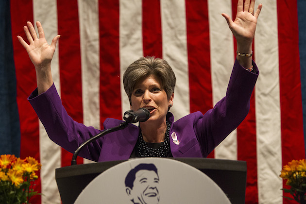 Joni Ernst Tea Party