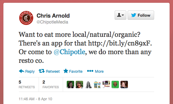 chipotle organizational structure