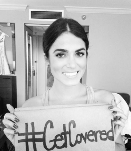 Nikki Reed #GetCovered