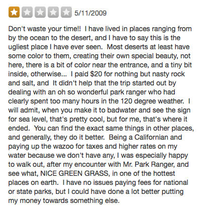 982d4e949fc45c I Can t Stop Reading One-Star Yelp Reviews of National Parks ...