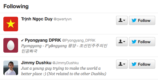 twitter north korea jimmy dushku