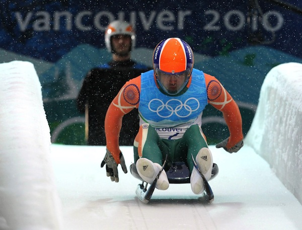 Shiva Keshavan Indian Luger