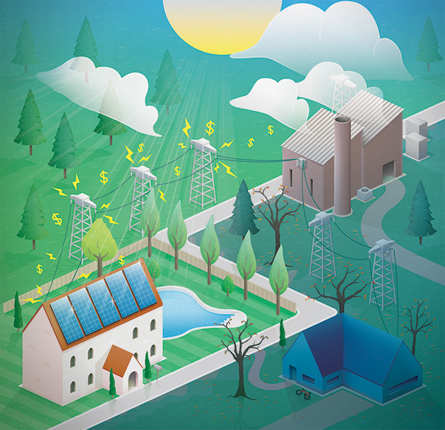 Are Solar-Powered Homes Jacking Up Everyone Else\'s Electric Bills ...