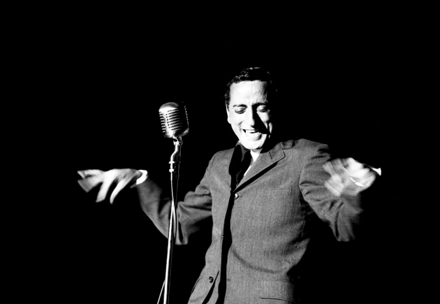 Tony Bennett at a Miami nightclub, December 1957.