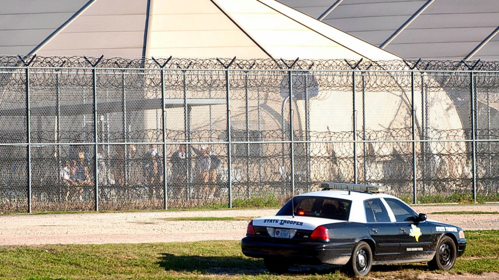 Image result for trump private detention firm