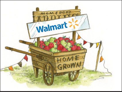 Is Walmart Really Going Organic and Local? – Mother Jones
