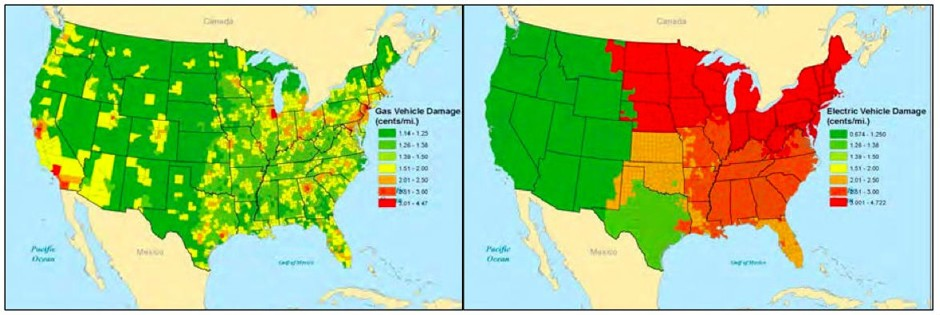 There Are Places Where Electric Cars Pollute More Than Gas