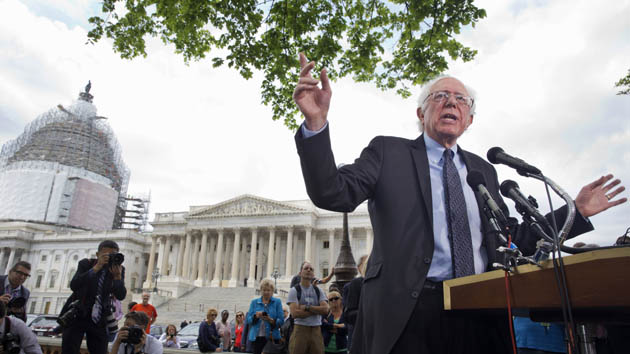 Bernie Sanders has already taken more press questions than Hillary Clinton