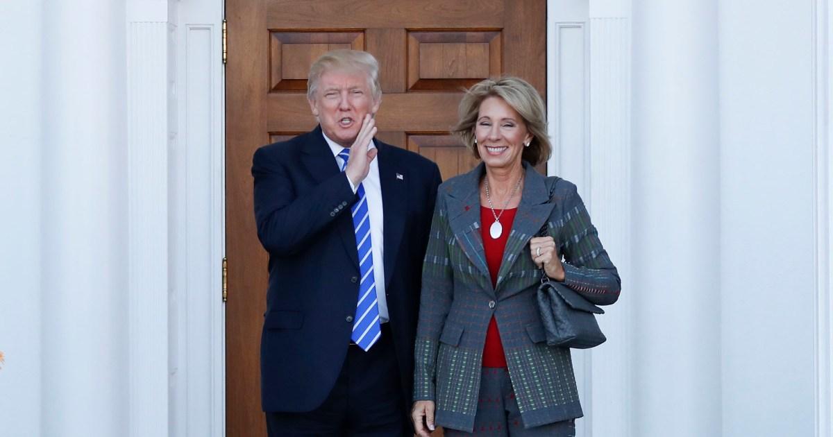 Betsy Devos Trumps Education Pick Plays >> Trump S Billionaire Education Secretary Has Been Trying To Gut