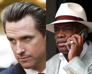 Gavin Newsom / Willie Brown