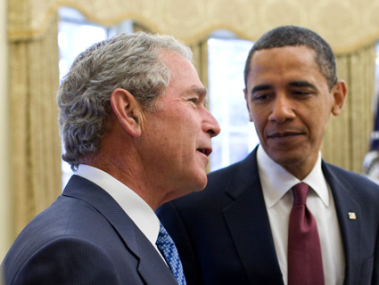 barack obama and the bush tax