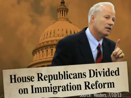 Democratic Super-PAC Turns Up the Heat on Immigration Reform