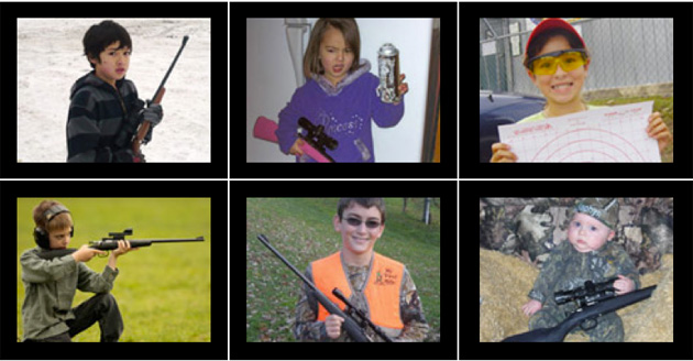 Here's How the Rifle That Just Killed a 2-Year-Old Girl Is Marketed
