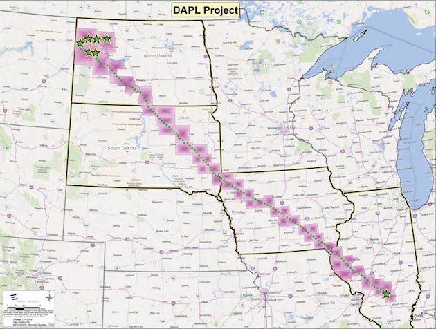 The Government Quietly Just Approved This Enormous Oil Pipeline - Active us oil pipelines map