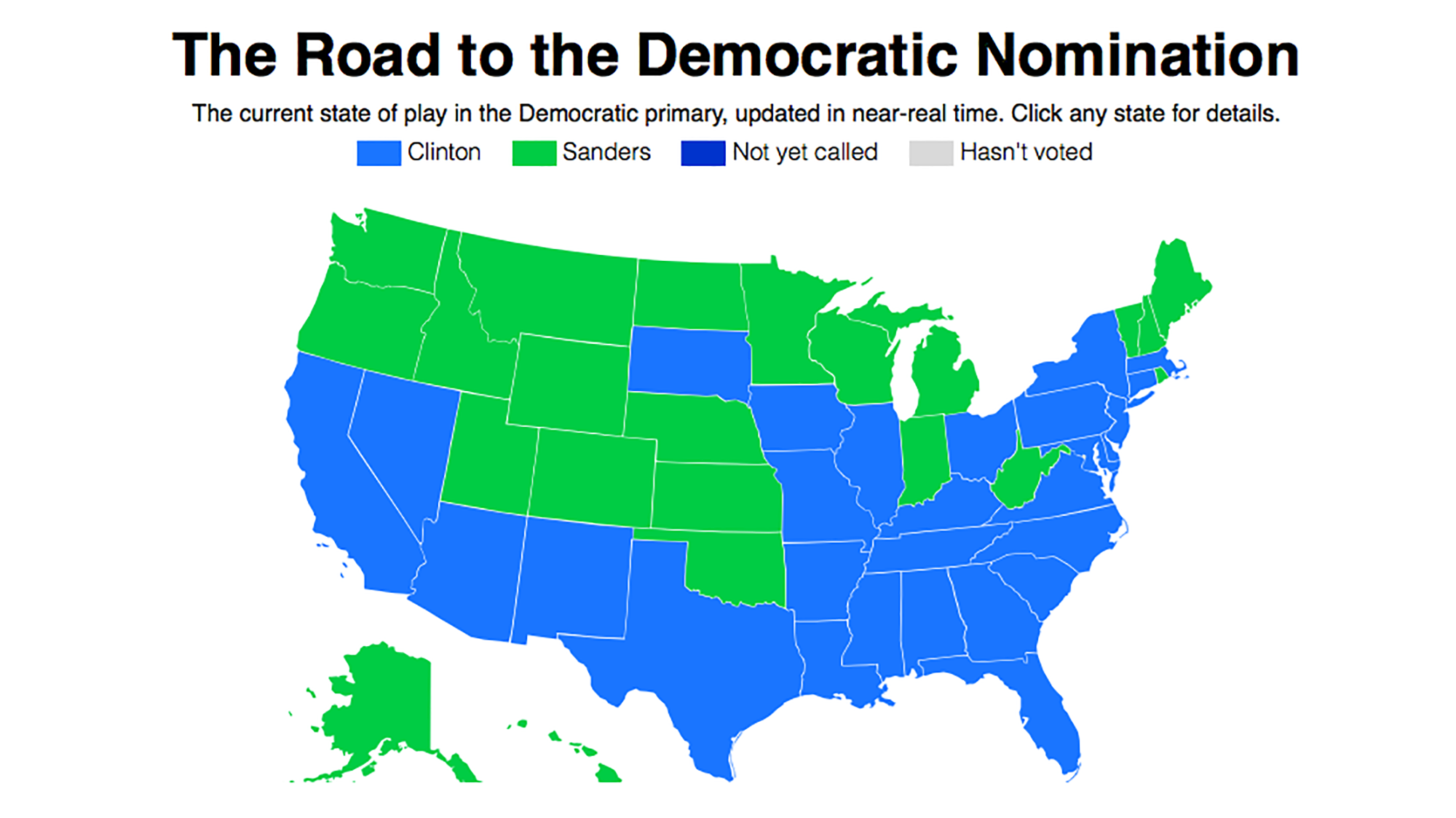 The 2016 Presidential Primary Delegate Tracker Mother Jones: Us Delegates Map At Usa Maps