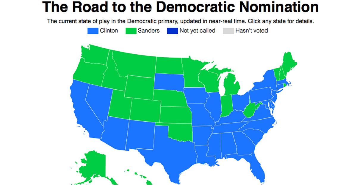 The Presidential Primary Delegate Tracker Mother Jones - Us delegates map