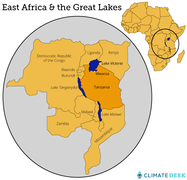 Lake Victoria On Map Of Africa.One Of The World S Biggest Lakes Is Dying And We Re To Blame