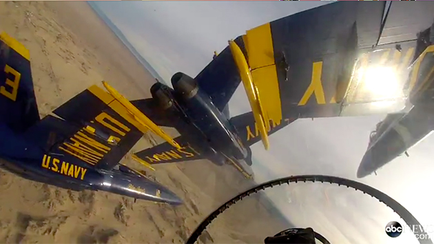 This GoPro video from inside an F-18 fighter jet is absolutely bonkers