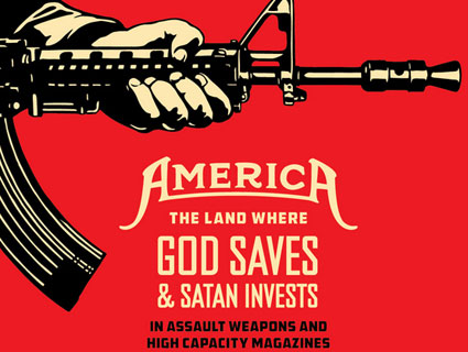 occupy draws a bead on the nra mother jones