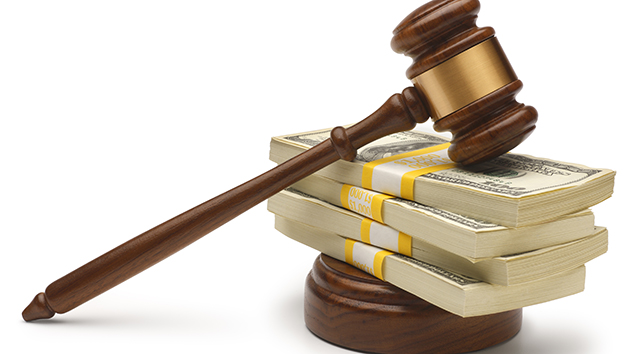 A gavel is used in courtrooms across the U.S.