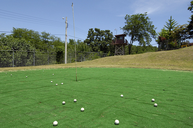 delaware golf courses map Green Zones A Map Of The Us Military S Golf Courses Mother Jones delaware golf courses map