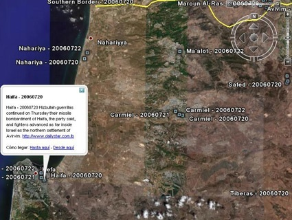 Why Google Earth Can\'t Show You Israel – Mother Jones