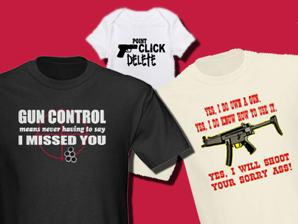 0af805c81 10 Totally Tasteless Pro-Gun T-Shirts – Mother Jones